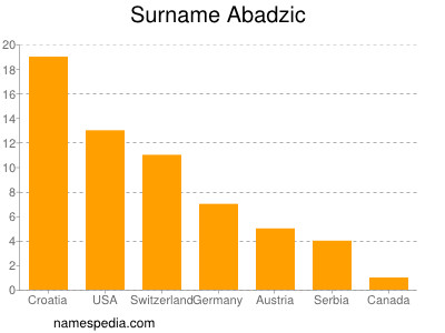 Surname Abadzic