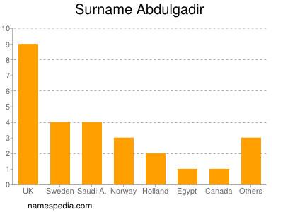 Surname Abdulgadir