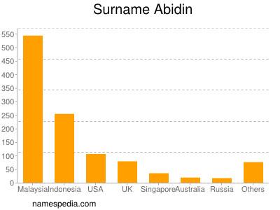 Surname Abidin