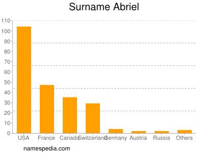Surname Abriel