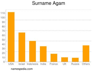 Surname Agam