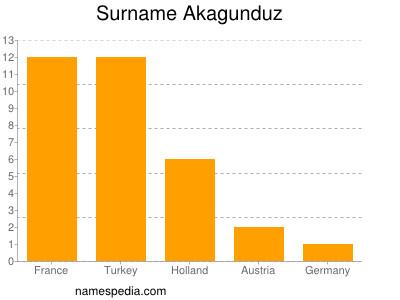 Surname Akagunduz