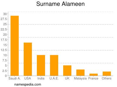 Surname Alameen