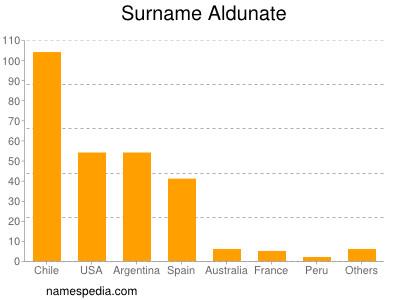 Surname Aldunate