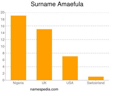 Surname Amaefula