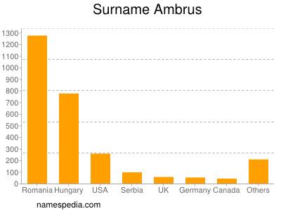 Surname Ambrus
