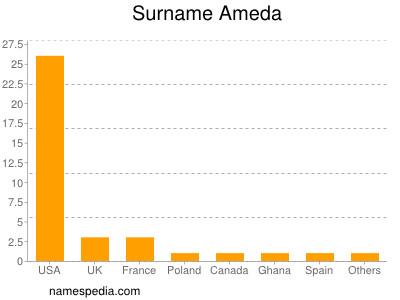 Surname Ameda
