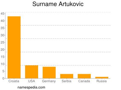 Surname Artukovic