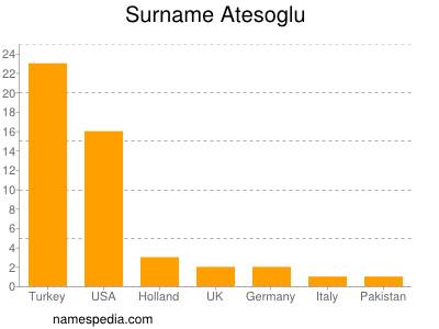 Surname Atesoglu