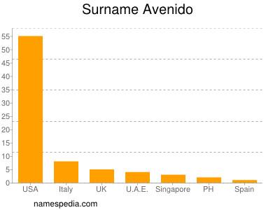 Surname Avenido