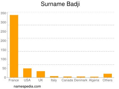 Surname Badji
