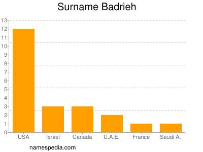 Surname Badrieh