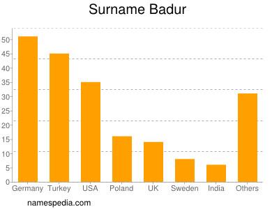Surname Badur