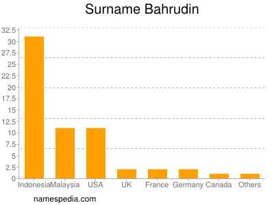 Surname Bahrudin