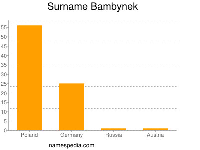 Surname Bambynek