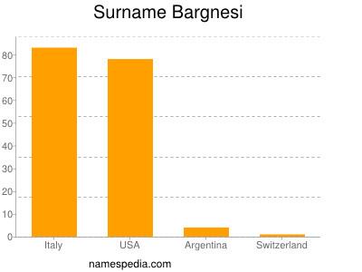Surname Bargnesi