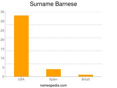 Surname Barnese