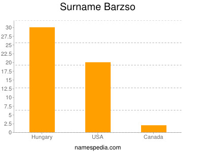 Surname Barzso