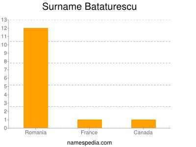 Surname Bataturescu