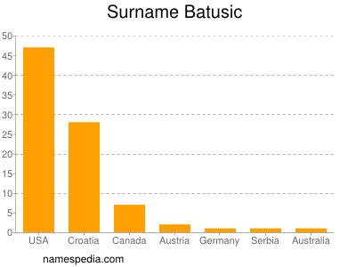 Surname Batusic