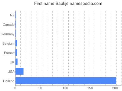 Given name Baukje