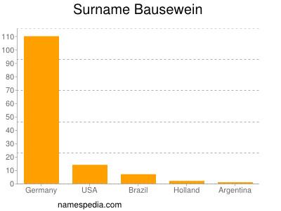 Surname Bausewein