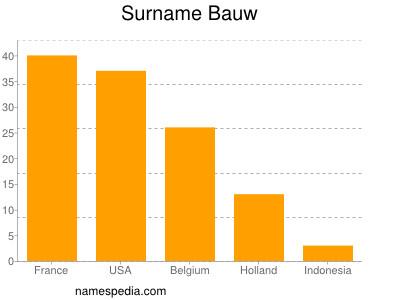 Surname Bauw