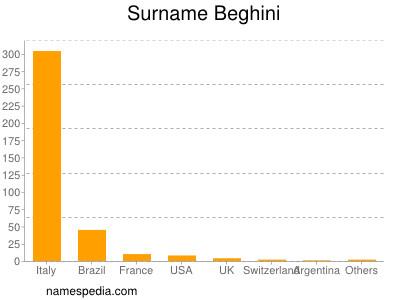 Surname Beghini