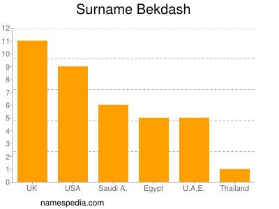 Surname Bekdash