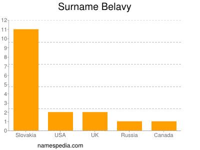 Surname Belavy