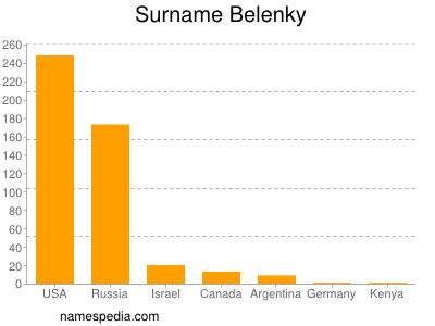 Surname Belenky