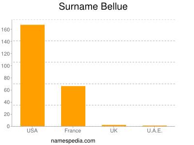 Surname Bellue
