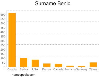 Surname Benic