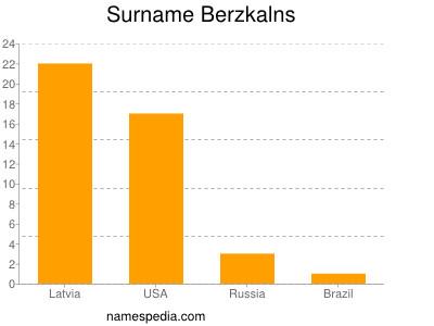 Surname Berzkalns