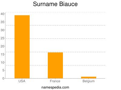 Surname Biauce