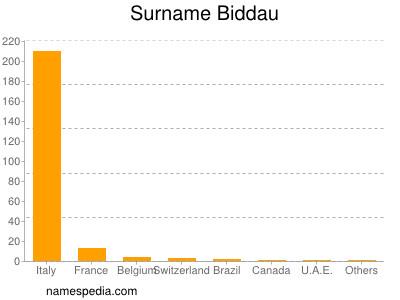 Surname Biddau