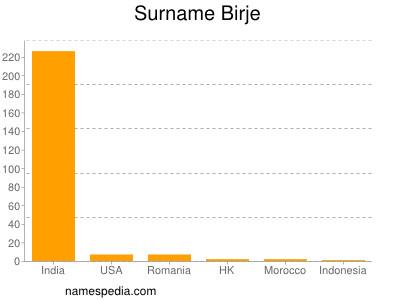 Surname Birje