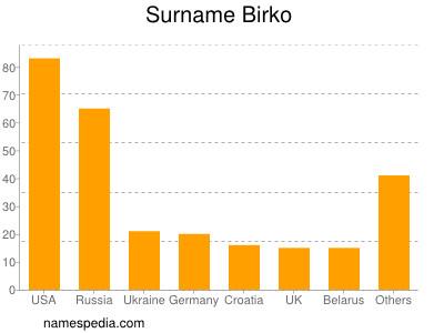 Surname Birko