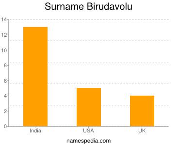 Surname Birudavolu
