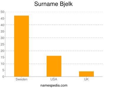 Surname Bjelk