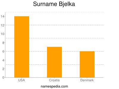 Surname Bjelka