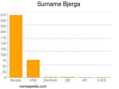 Surname Bjerga