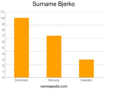 Surname Bjerko