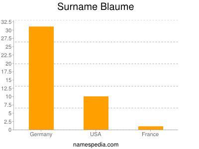 Surname Blaume