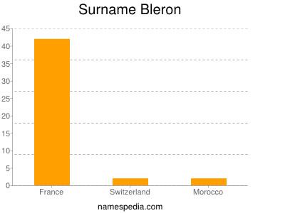 Surname Bleron