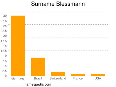 Surname Blessmann