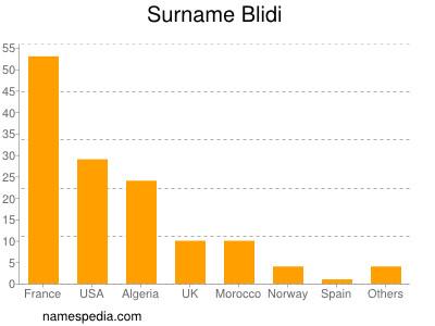 Surname Blidi