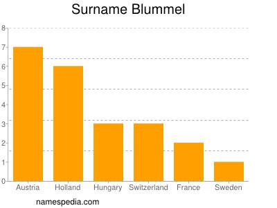 Surname Blummel