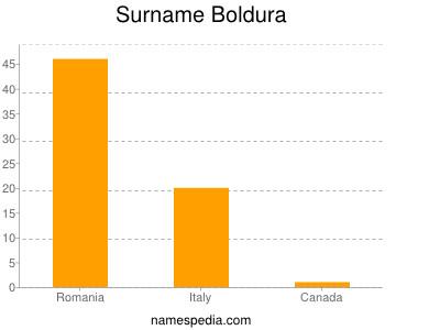Surname Boldura