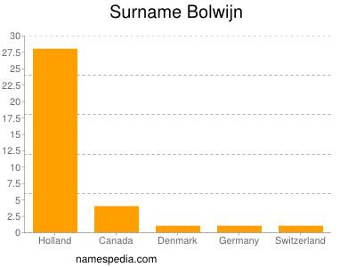 Surname Bolwijn